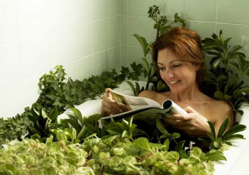 Лечение водными травяными ваннами