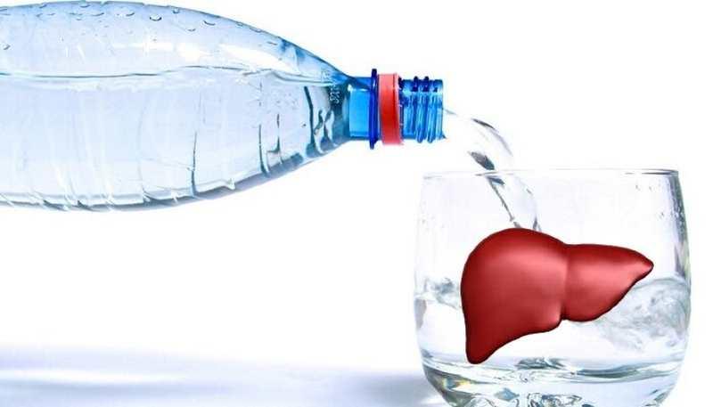 Лечение водой заболеваний печени, желчного пузыря