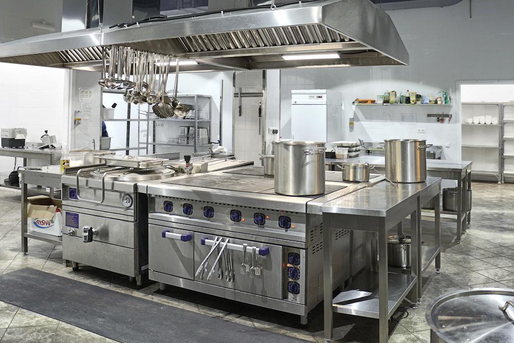 Оборудование - горячий цех