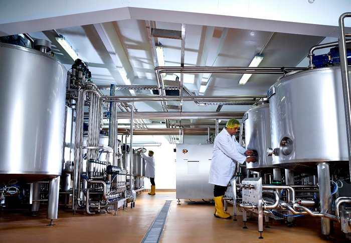 Оборудование для молокоперерабатывающих предприятий