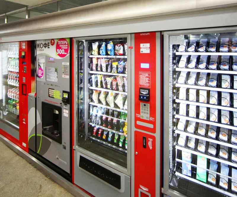 Виды вендинговых автоматов. Кофейные торговые автоматы