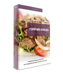 Купить современный сборник рецептур на горячие блюда