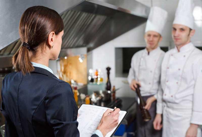 контроль знаний сотрудников ресторана