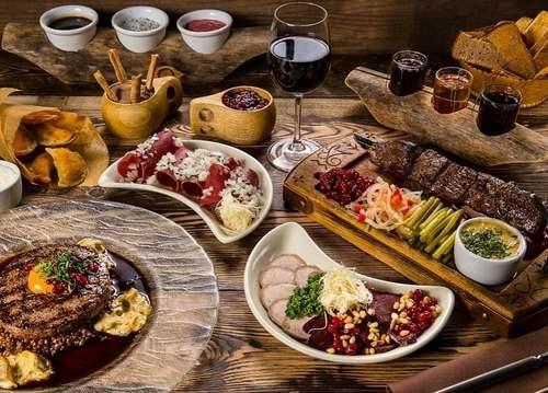 Вегетарианская русская кухня - готовое меню