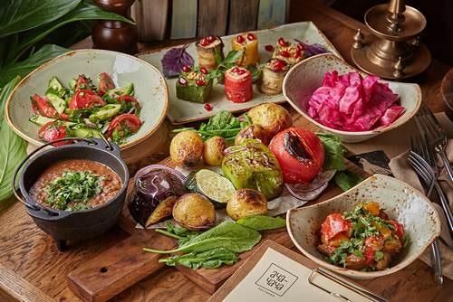 вегетарианское кафе русской кухни