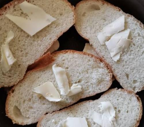 бутерброды с маслом