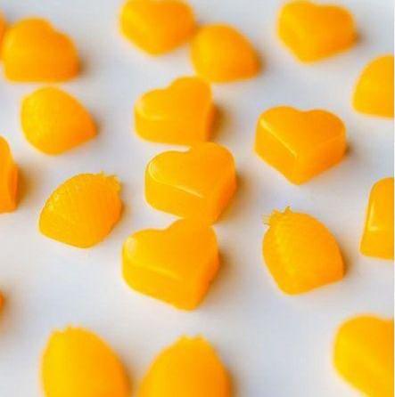 Конфеты апельсиновые желейные