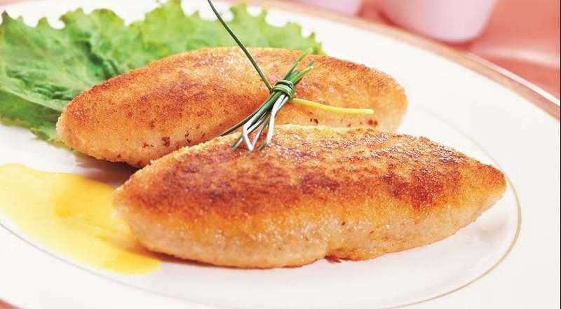 котлеты из рыбы в сливочном соусе