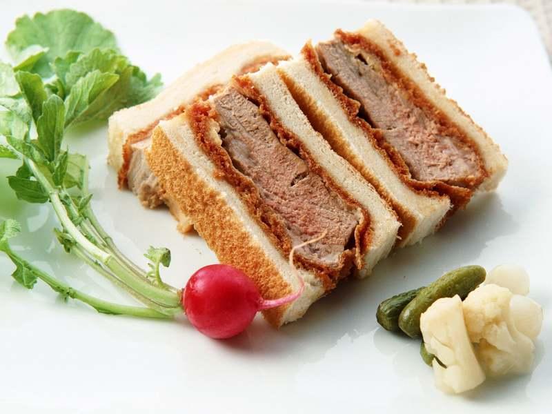 сэндвичи с отварным мясом